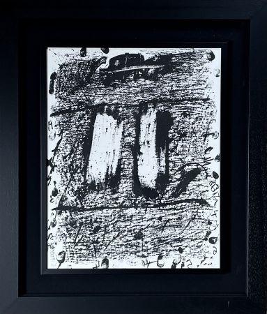 Lithographie Tàpies - CIRCULO DE PIEDRA