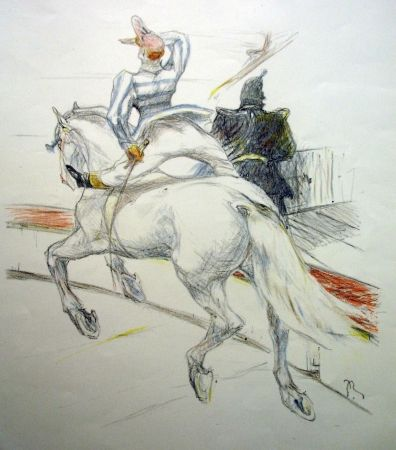 Lithographie Roig - Cirque / Circus