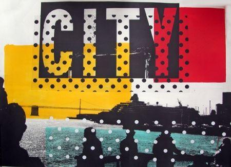 Lithographie Soulie - City Lithographie De Tony Soulie