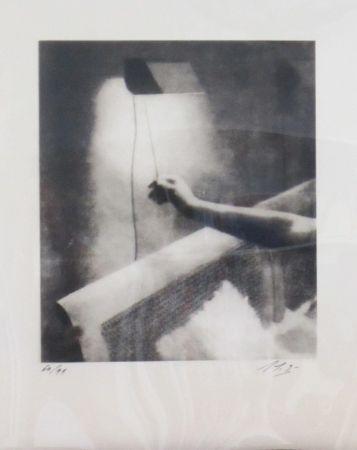 Sérigraphie Bustamante - Clair obscur