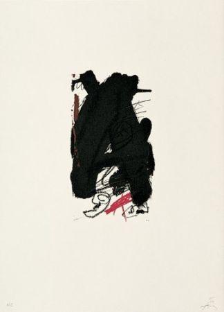 Lithographie Tàpies - Clau-6