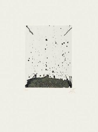 Lithographie Tàpies - Clau de foc 19