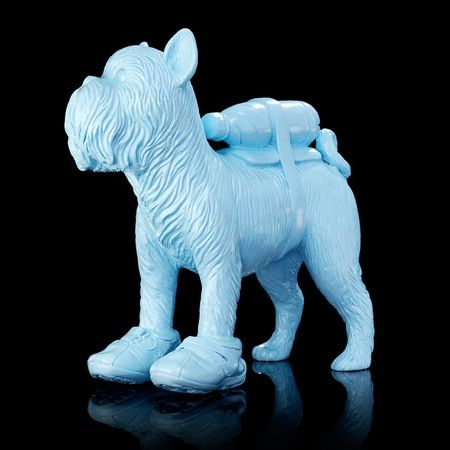 Multiple Sweetlove - Cloned blue Griffon Bruxellois with pet bottle