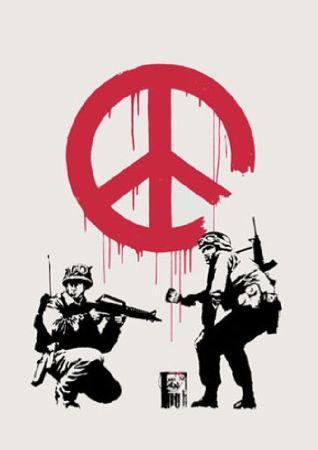 Sérigraphie Banksy - CND