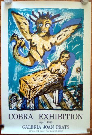 Affiche Lucebert - COBRA EXHIBITION