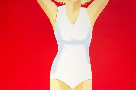 Sérigraphie Katz - Coca-Cola Girl #2