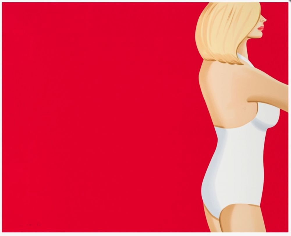 Sérigraphie Katz - Coca-Cola Girl 3