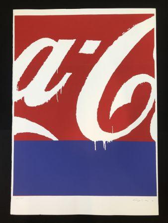 Sérigraphie Schifano - Coca cola