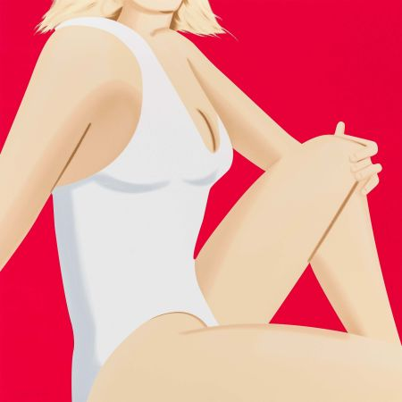 Sérigraphie Katz - Coca Cola Girl 7 (Portfolio of 9)