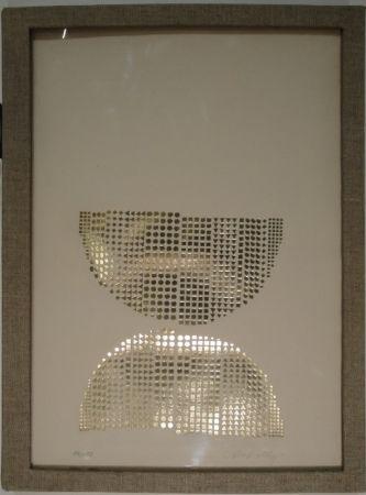 Sérigraphie Vasarely - Code avec en regard des oeuvres originales de Vasarely