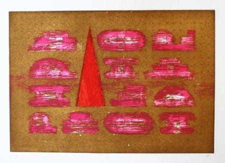 Eau-Forte Et Aquatinte Rojo - Codices 5