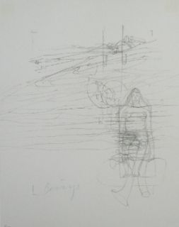 Lithographie Beuys - Codices Madrid 8