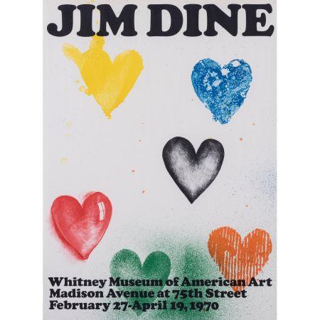 Affiche Dine - Coeurs pour le Whitney