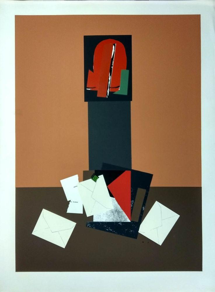 Sérigraphie Gordillo - Collage con sobres