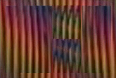 Lithographie Cruz-Diez - Color aditivo Cantarrana 2