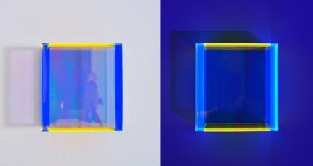 Multiple Schumann - Colormirror rainbow pastel blue hongkong