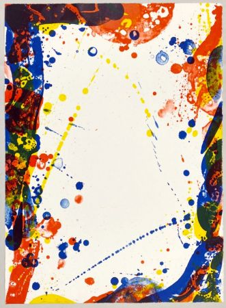 Lithographie Francis - Colors in Space II