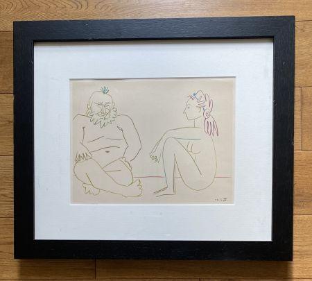 Aucune Technique Picasso - Comédie Humaine 27/1/54.XIV