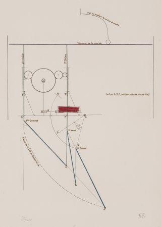 Eau-Forte Duchamp - Combat de boxe