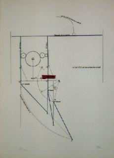 Eau-Forte Et Aquatinte Ray - COMBAT DE BOXE