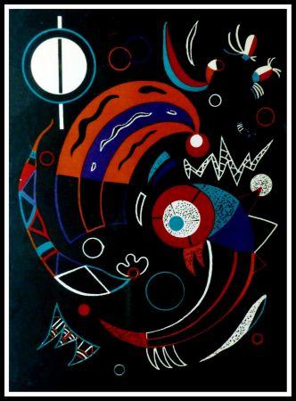 Lithographie Kandinsky - COMETES