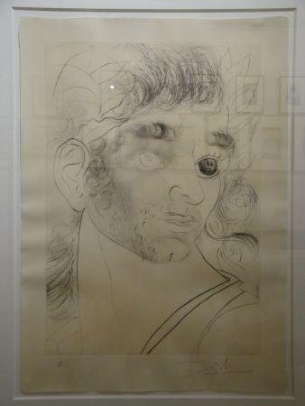 Eau-Forte Dali - Comment sont ses yeux... (Wie sehen seine Augen aus...)