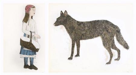 Lithographie Smith - Companions - dyptique