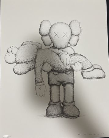 Aucune Technique Kaws - Companionship in the Age of Loneliness