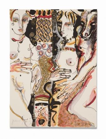 Lithographie Barbera - Compasion