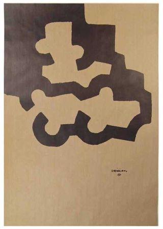 Lithographie Chillida - Composición