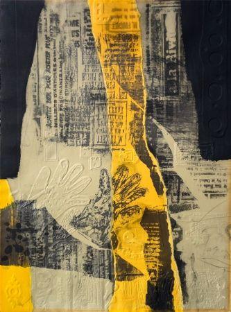 Eau-Forte Clavé - Composición con Amarillo