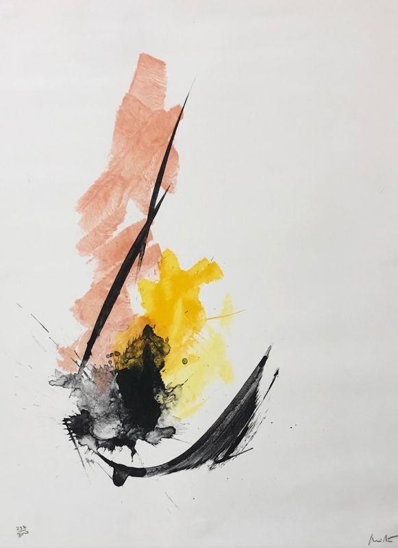 Lithographie Miotte - Composition