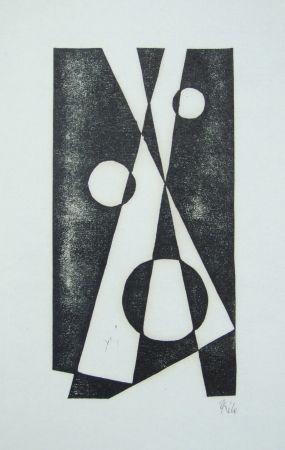Gravure Sur Bois Maatsch - Composition