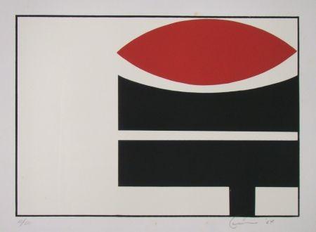 Lithographie Don - Composition