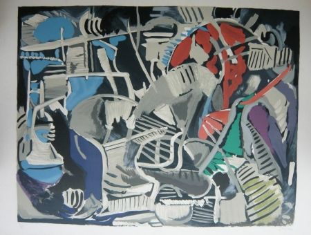 Lithographie Lanskoy - Composition