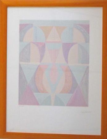 Lithographie Charchoune - Composition