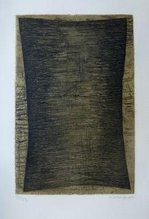 Eau-Forte Et Aquatinte Bergmann - Composition