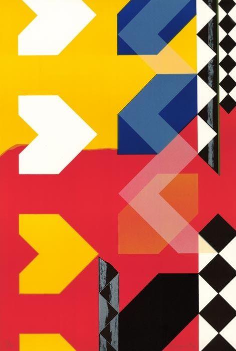 Lithographie Rougemont (De) - Composition