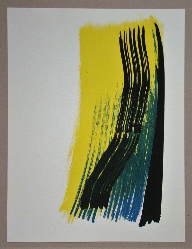 Lithographie Hartung - Composition