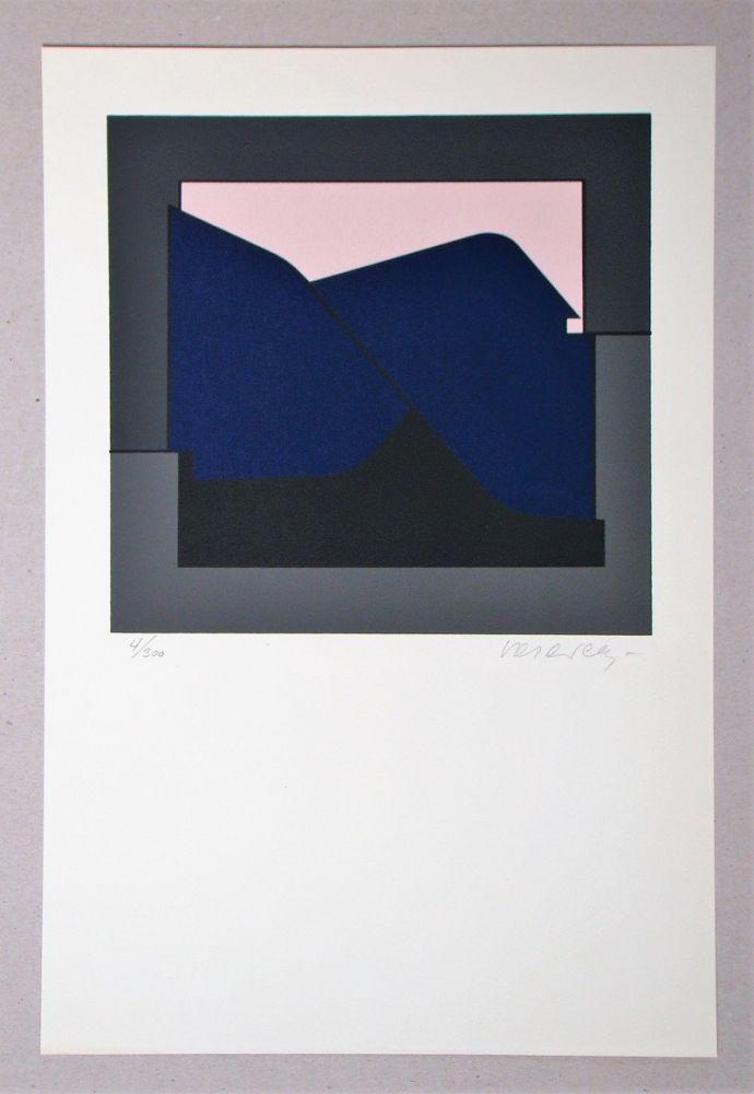 Sérigraphie Vasarely - Composition