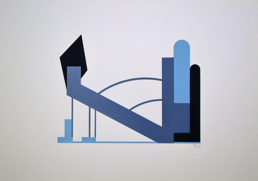 Sérigraphie Maatsch - Composition