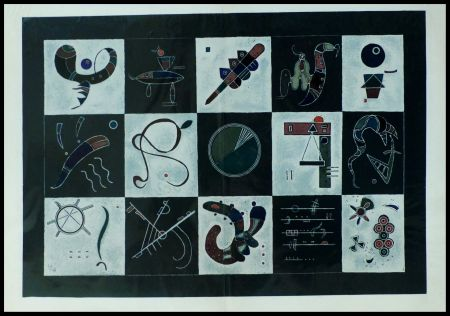 Lithographie Kandinsky (After) - COMPOSITION