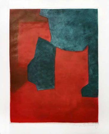 Gravure Poliakoff - Composition
