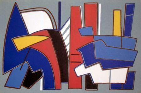 Lithographie Magnelli - '' Composition ''