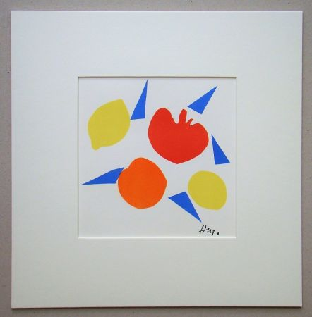 Lithographie Matisse (After) - Composition