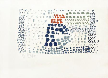 Lithographie De Stael - Composition