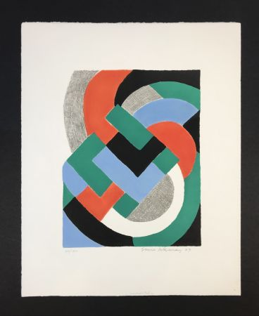 Sérigraphie Delaunay - Composition