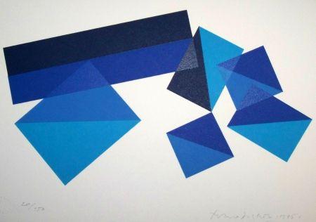 Lithographie Dorazio - Composition