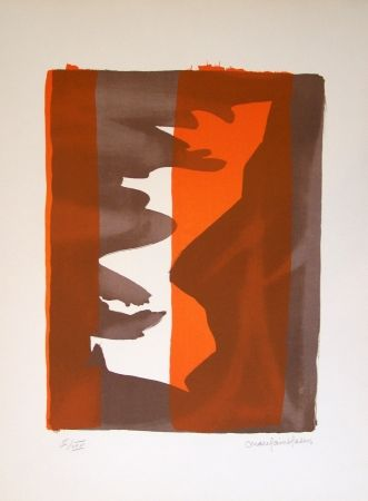 Lithographie Saint Saens - Composition