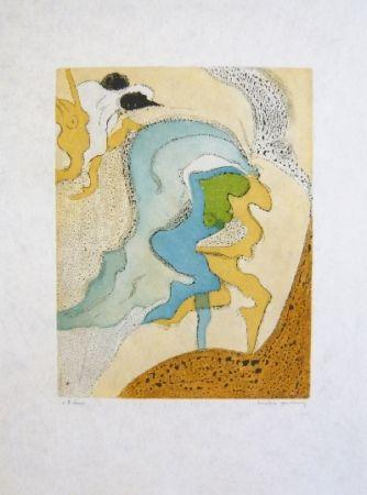 Eau-Forte Et Aquatinte Tanning - Composition